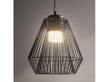 XXXLutz LED-HÄNGELEUCHTE , Schwarz, Metall, 110 cm