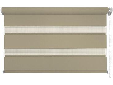 Homeware DUOROLLO halbtransparent 140/160 cm , Braun, Kunststoff, 140x160 cm