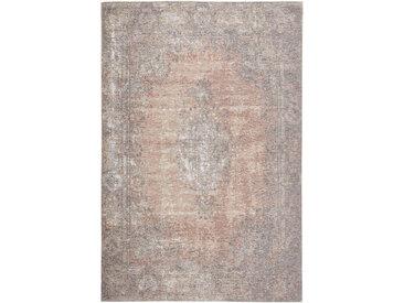 Novel VINTAGE-TEPPICH 155/230 cm Rosa, Beige , Abstraktes, 155 cm