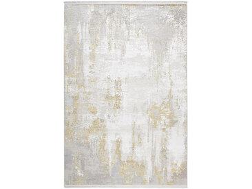 Dieter Knoll VINTAGE-TEPPICH 80/150 cm Beige , Abstraktes, 80x150 cm