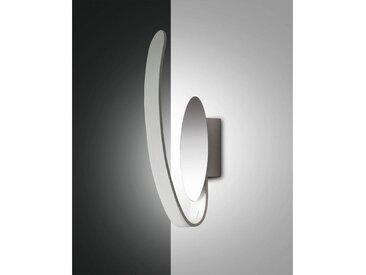 XXXLutz LED-WANDLEUCHTE , Weiß, Metall, Kunststoff, 9x34x10 cm