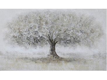 Monee ÖLGEMÄLDE Bäume , Mehrfarbig, Holz, Kiefer, massiv, 120x70 cm