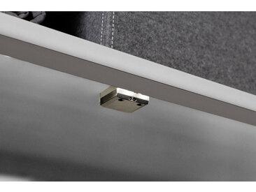 Hom`in EINBAULEUCHTE für 50er Elemente mit Sensor , Silber, Kunststoff