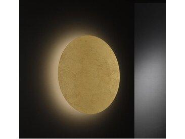 Wofi LED-WANDLEUCHTE , Gold, Metall, 40x6.2x40 cm