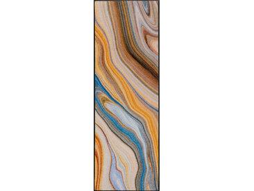 Esposa FUßMATTE 60/180 cm Graphik Mehrfarbig, Beige , Mehrfarbig, Beige, 60 cm