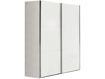 Xora SCHWEBETÜRENSCHRANK 2-türig Weiß , 150.8x200.3x63.3 cm