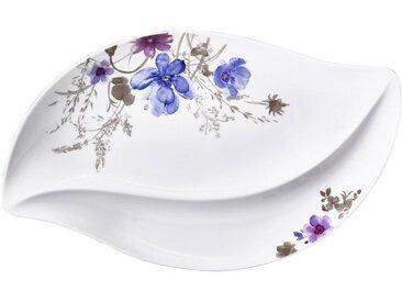 Villeroy & Boch SERVIERPLATTE, Mehrfarbig, Keramik, Floral, 30 cm