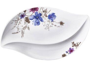 Villeroy & Boch SERVIERPLATTE, Mehrfarbig, Keramik, Floral, 30x50 cm