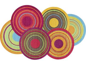 Esposa FUßMATTE 110/175 cm Graphik Mehrfarbig , Mehrfarbig, 110 cm