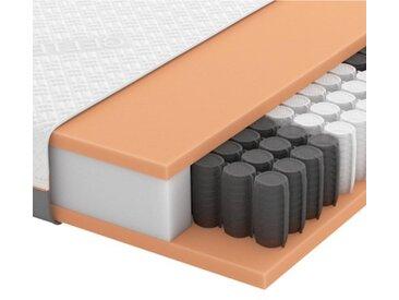 Schlaraffia GEL-TASCHENFEDERKERNMATRATZE Quantum 200 TFK 90/200 cm , Weiß, H3=fest ab ca.80kg, 90x200 cm