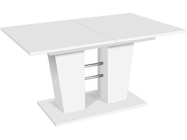Livetastic ESSTISCH rechteckig Weiß , 90x75 cm