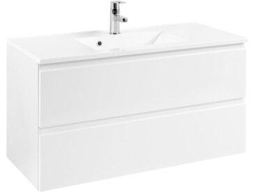 Xora WASCHTISCHKOMBI Weiß , 100x56x47 cm