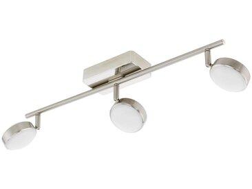 Eglo Leuchten Gmbh LED-STRAHLER , Weiß, Silber, Metall, Kunststoff, 8x59 cm