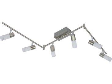 Xora LED-STRAHLER , Silber, Metall, Glas, 17.5x8x150 cm