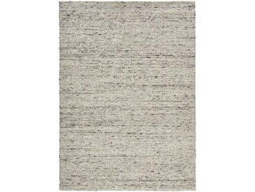 Linea Beigea HANDWEBTEPPICH 200/290 cm Weiß , Uni, 200x290 cm