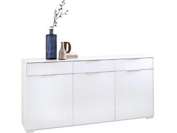 Anrichte, Holzwerkstoff, Weiß, B/H/T 183 89 40