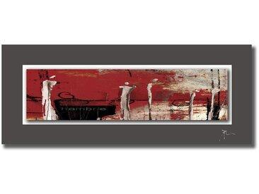 Wiedemann ACRYLGLASBILD Abstraktes , Mehrfarbig, Metall, 50x125 cm
