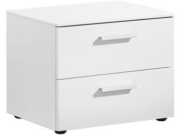 Xora NACHTKÄSTCHEN Weiß , 50x41x41 cm