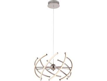 XXXLutz LED-HÄNGELEUCHTE , Weiß, Metall, Kunststoff, 120 cm