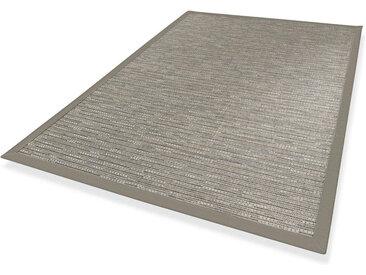Novel LÄUFER In-/ Outdoor 80/250 cm Grau , Streifen, 80x250 cm