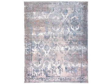 Novel VINTAGE-TEPPICH 115/170 cm Blau, Beige , Ornament, 115x170 cm