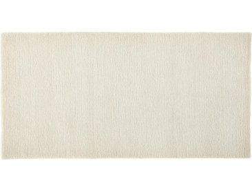 Esposa Wollteppich 250/300 cm Weiß , Uni, 250 cm