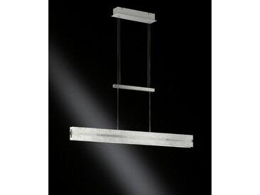 XXXLutz LED-HÄNGELEUCHTE , Grau, Metall, Glas, 91x150x8 cm