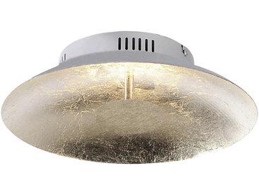 XXXLutz LED-DECKENLEUCHTE , Gold, Metall
