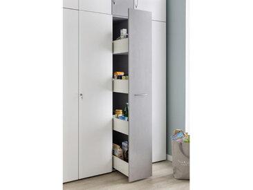Xora APOTHEKERSCHRANK , Weiß, Kunststoff, 30x185x54 cm