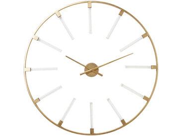 Kare-Design WANDUHR Gold , Metall, 92 cm