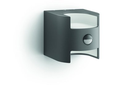 Philips MYGARDEN LED-AUßENWANDLEUCHTE Grau , Metall, 12.85x12.79x15.65 cm