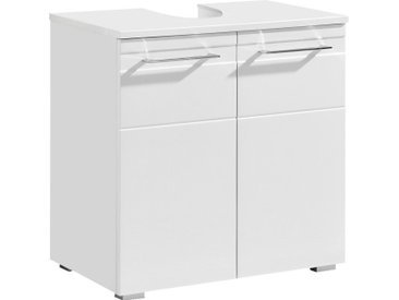 Xora WASCHBECKENUNTERSCHRANK Weiß , 60x61x38 cm