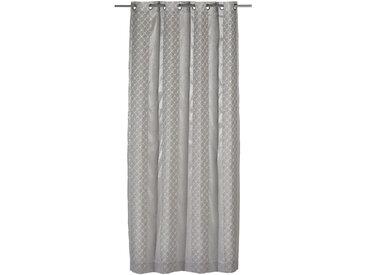 Joop! ÖSENSCHAL transparent 140/250 cm , Weiß, Uni, 140 cm