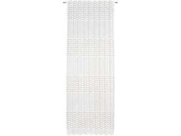 Esposa FERTIGVORHANG blickdicht 140/245 cm , Weiß, Streifen, 140 cm