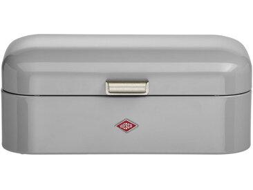 Wesco BROTBOX , Grau, Metall, 22x17 cm