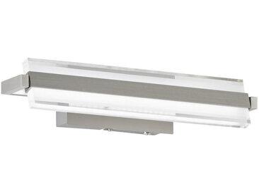 XXXLutz LED-WANDLEUCHTE , Nickel, Metall, Kunststoff, 35x8 cm