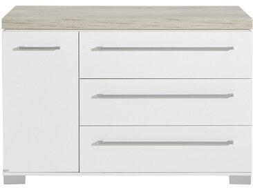 Paidi WICKELKOMMODE Kira Weiß, Braun , Metall, 1 Fächer, 135.3x90.3x55.6 cm