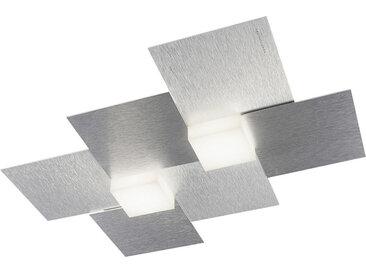 XXXLutz LED-DECKENLEUCHTE , Alu, Metall, 33.0x5.2 cm