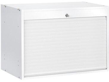 XXXLutz ROLLO-EINSATZ Weiß , Kunststoff, 76x51.4x39 cm