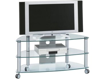TV-Rack, Alu, B/H/T 95 53 52