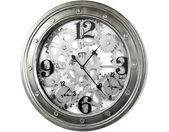 WANDUHR , Anthrazit , Metall , Dekoration, Uhren, Wanduhren