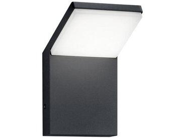 XXXLutz AUßENWANDLEUCHTE Grau , Metall, Kunststoff, 10.0x16.0x10.5 cm
