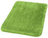Kleine Wolke BADTEPPICH , Grün , Uni , rechteckig , 70x3x120 cm es Vertrauen - OEKO-TEX® , für Fußbodenheizung geeignet, rutschhemmend , Badtextilien, Badematten