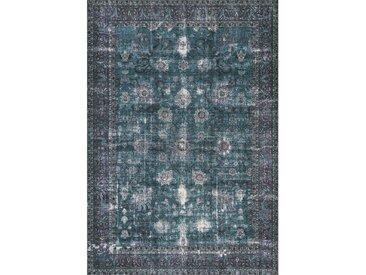Novel VINTAGE-TEPPICH 160/230 cm Blau , Abstraktes, 160x230 cm