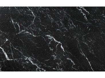 Komar VLIESTAPETE Marble Nero , Weiß, Abstraktes, 400x250 cm