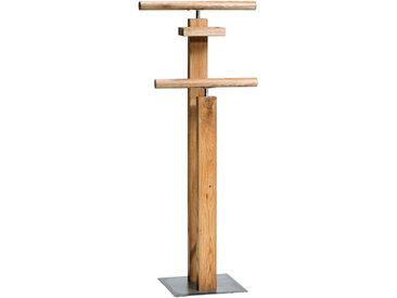 Hasena HERRENDIENER Braun , Holz, Wildeiche, massiv, 45x107x28 cm