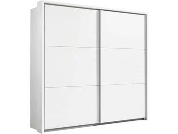 Ti`me SCHWEBETÜRENSCHRANK 2-türig Weiß , 222x210x61 cm