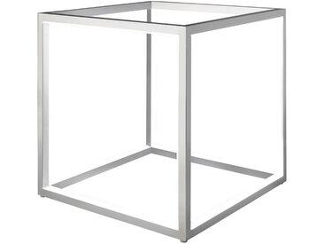 Tischleuchte, Silber, B/H/T 30 30 30