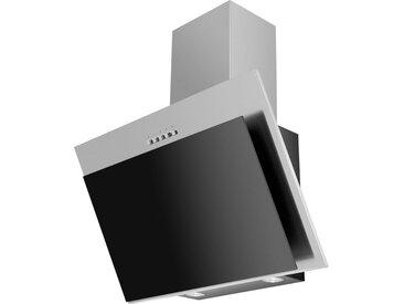 Mican Dunstabzugshaube 60250, Schwarz, Edelstahl, Metall, 60x95.5-133x31 cm