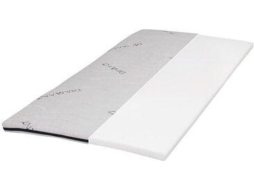 Carryhome TOPPER Kaltschaumkern , Weiß, 140 cm